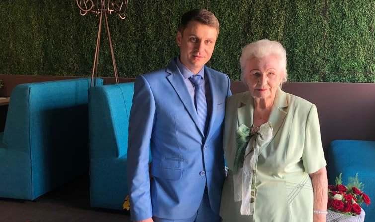 Ветеран Великой Отечественной войны Татьяна Бабинян отметила 95-летие