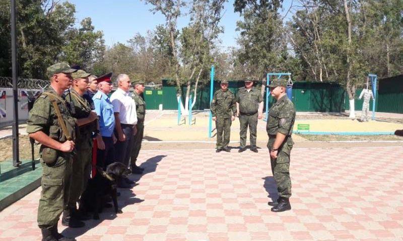 65 народных дружин задействованы  в охране и защите государственной границы на Дону