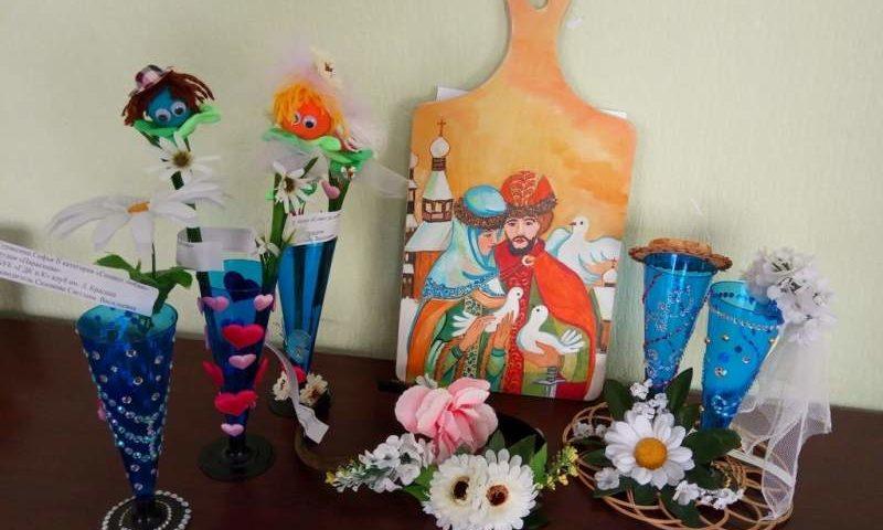 Подведены итоги епархиального конкурса декоративно-прикладного творчества, посвященного Дню семьи, любви и верности