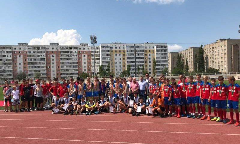 На Дону завершились областные  соревнования  по футболу «Кожаный мяч»