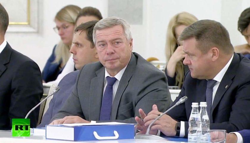 Василий Голубев принял участие в заседании Госсовета РФ, посвященное вопросам развития сети автомобильных дорог