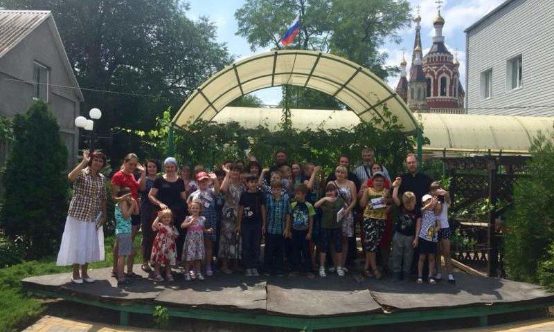 В Шахтинской епархии реализуется проект по адаптации в социуме детей-инвалидов