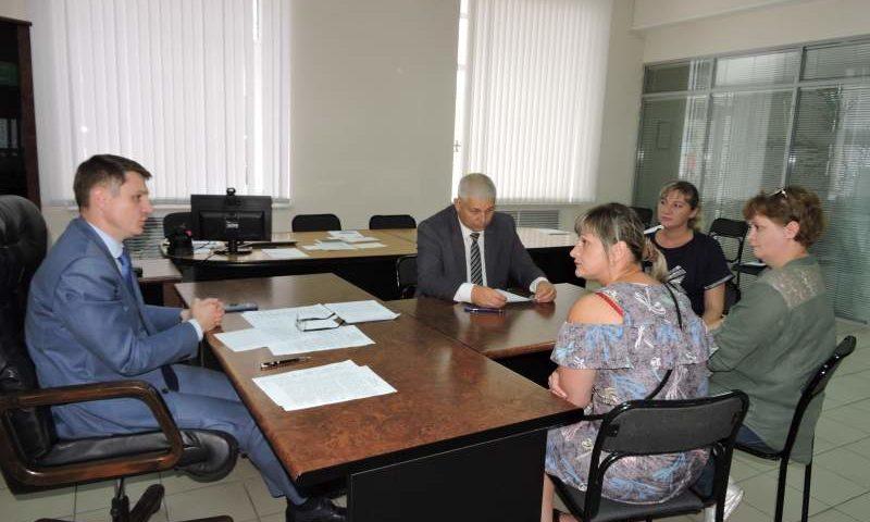 Глава администрации Андрей Ковалев  провел очередной прием шахтинцев