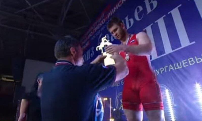Шахтинский борец Илья Репин одержал победу в международном турнире