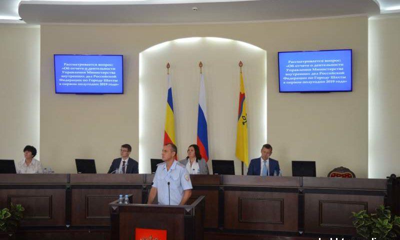 312 краж раскрыли шахтинские полицейские за шесть месяцев этого года