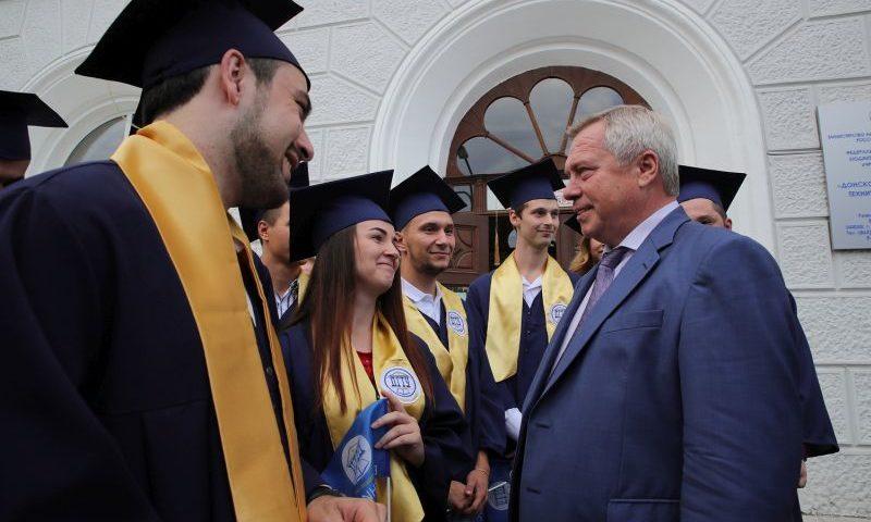 Губернатор наградил лучших выпускников ДГТУ