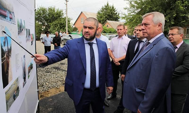 В Зернограде ведётся масштабная реконструкция объектов инфраструктуры