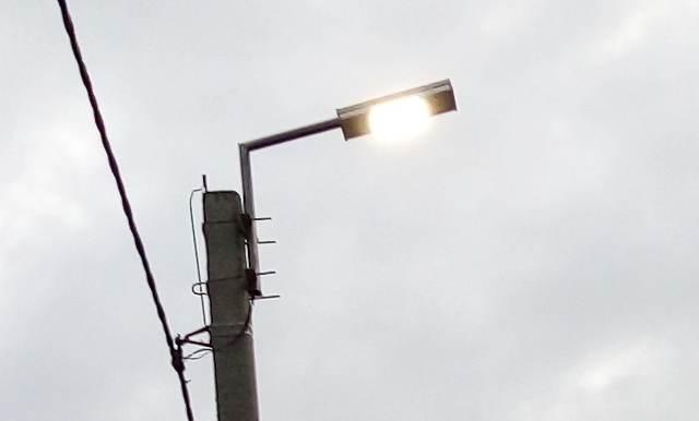 В поселке 20 лет РККА г.Шахты построят 7100 метров линий уличного освещения