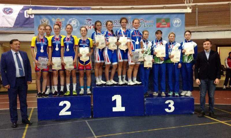 Шахтинки заняли призовые места на соревнованиях по велоспорту