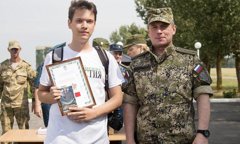 Корреспондента «Шахтинских известий» научили работать в экстремальных условиях
