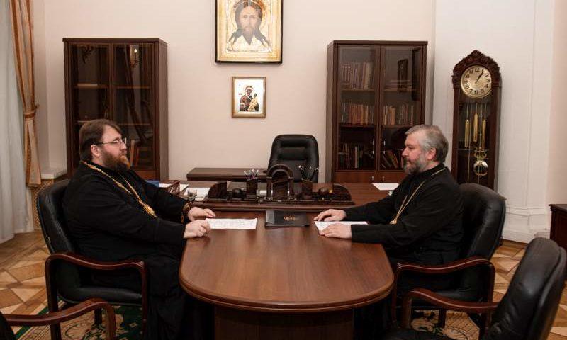 Шахтинскую епархию посетил митрополит Вологодский и Кирилловский Игнатий