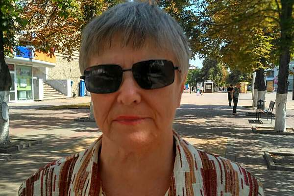 Людмила МИРОНОВА, пенсионерка: