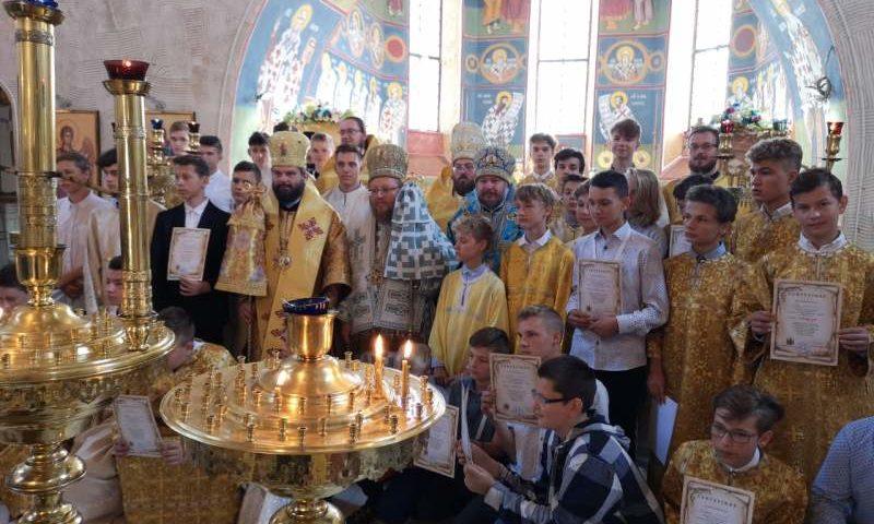 В Супрасльской Лавре в Польше преосвященнейший епископ Симон совершил Божественную литургию
