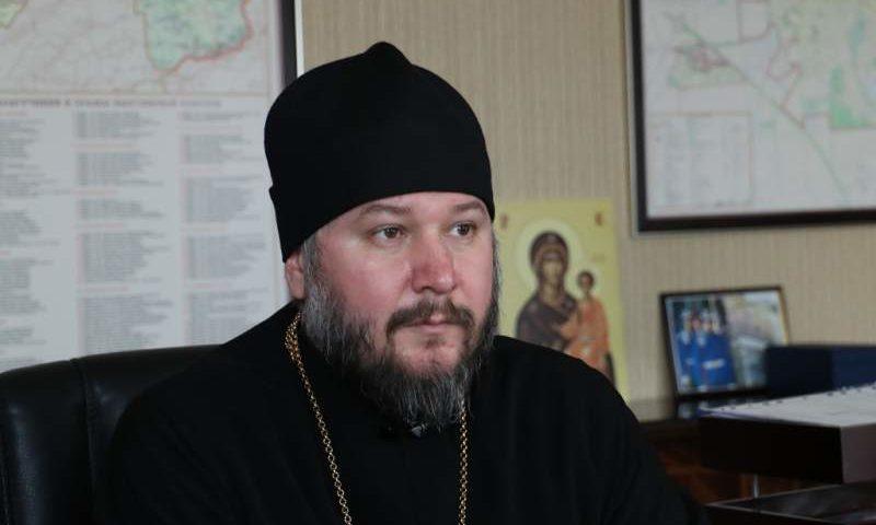 Совещание с председателями социального и молодежного отделов Шахтинской епархии провел Преосвященнейший епископ Симон