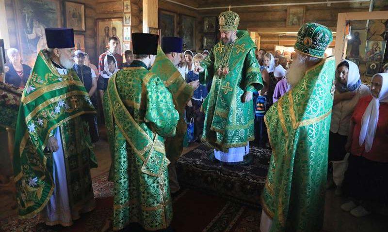 В храме преподобного Серафима Саровского отметили храмовый праздник