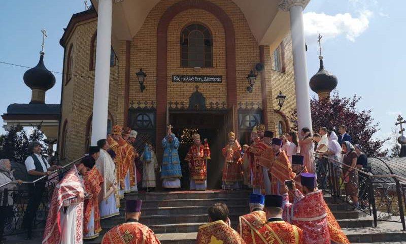 Епископ Симон сослужил архиереям Православных Церквей по случаю престольного праздника храма великомученика Пантелеимона Целителя в Польше
