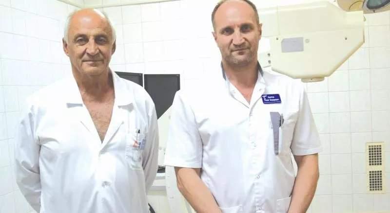 Отец и сын Аметовы работают в БСМП им. Ленина г. Шахты