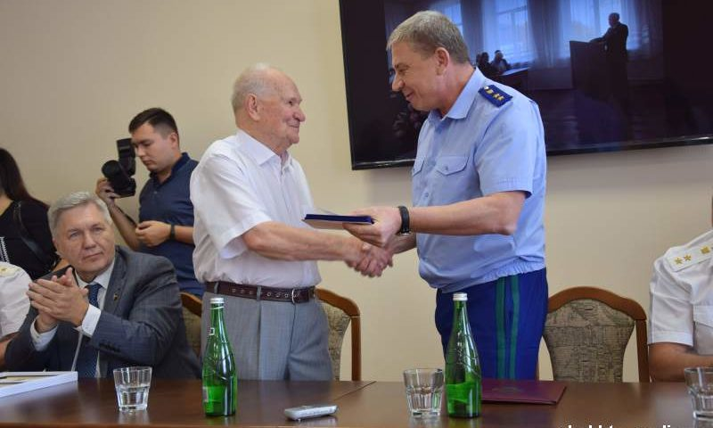 Почетный гражданин г. Шахты Юрий Тимошенко отметил 90-летний юбилей