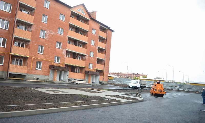 Сдача трех домов в микрорайоне Олимпийский г.Шахты запланирована на октябрь этого года