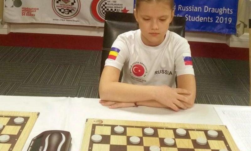 Шахтинка Анастасия Ляхова взяла серебро международных соревнований по шашкам