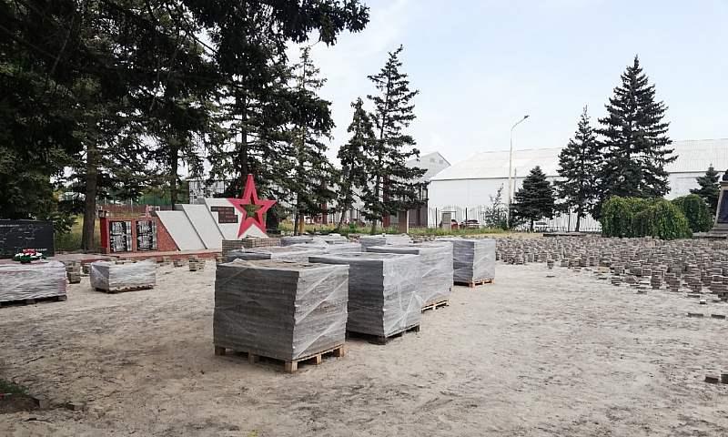Реконструкция Александровского парка в Шахтах ведется по графику