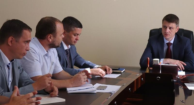 Глава администрации г. Шахты Андрей Ковалев провел совещание по вопросу реализации проекта «Умный город»