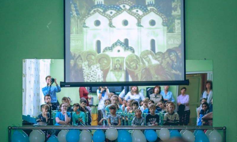 Воспитанники воскресной школы «Покров» и сотрудники Покровского кафедрального собора побывали  в «Добродее»