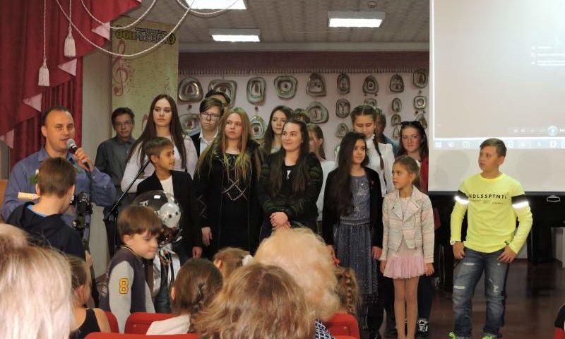 Шахтинская детская киностудия Школы искусств представила премьеру первого фильма