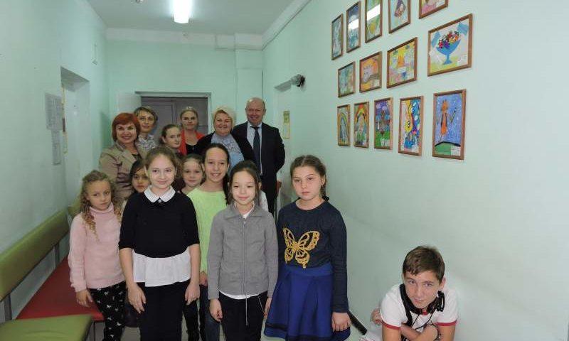 В детском отделении стоматологической поликлиники №1 г. Шахты  стартовал  проект «Территория здоровья»