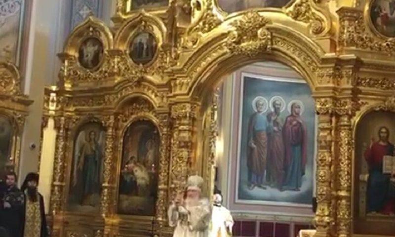 Патриарх Кирилл освятил кафедральный собор Ростова-на-Дону