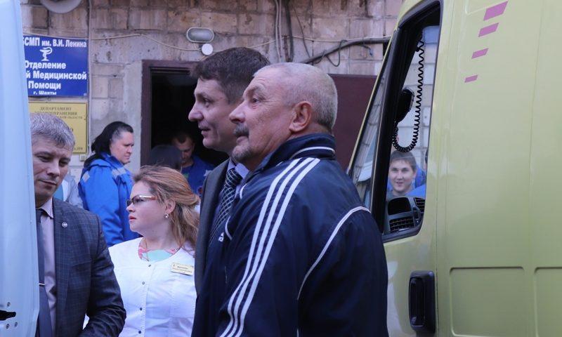 Глава администрации Андрей Ковалев встретился с сотрудниками отделения скорой медицинской помощи