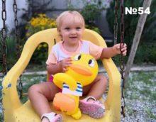 Алина Пацукова, 1 год 9 месяцев