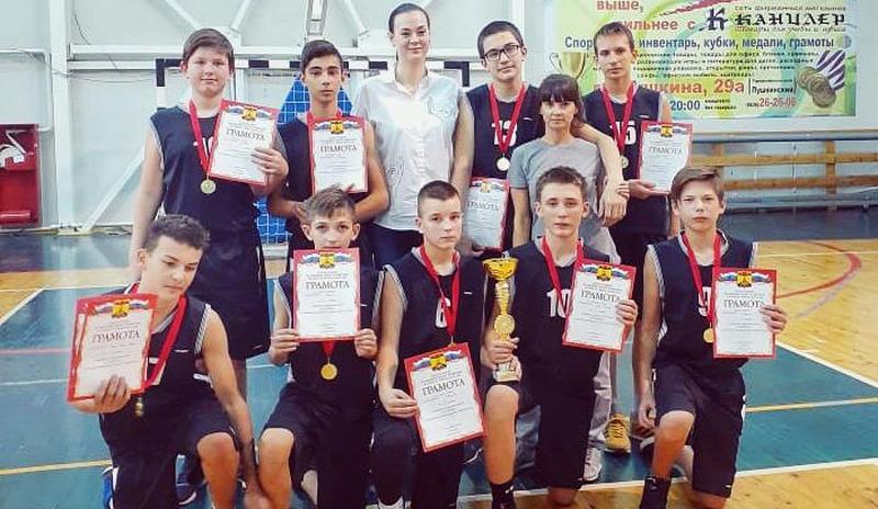 Победителем первенства по баскетболу стала сборная команда г. Шахты