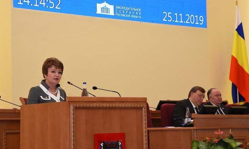 Областной закон «Об областном бюджете на 2020 год и на плановый период 2021 и 2022 годов» принят в первом чтении