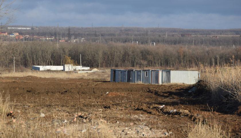 Первые кадры с места строительства школы на 600 мест в г. Шахты