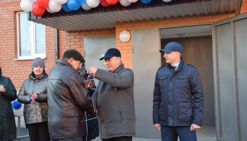 Губернатор Ростовской области вручил ключи новоселам в микрорайоне «Олимпийский» г.Шахты