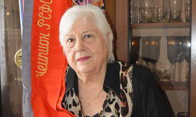 Галина Жидкова – единственный в Шахтах мастер спорта СССР по баскетболу