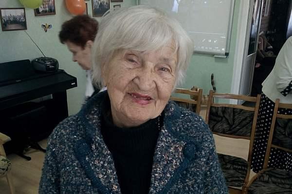 Ирина СОБОЛЕВСКАЯ, 92 года: