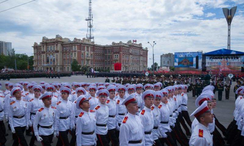 В третий раз пройдет в Ростове-на-Дону парад в честь Дня сотрудников органов внутренних дел РФ