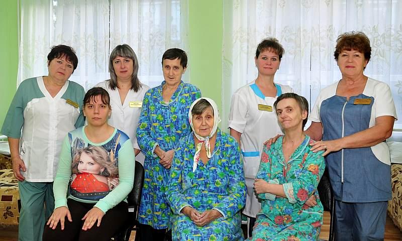 Шахтинский психоневрологический интернат готовится к декаде инвалидов