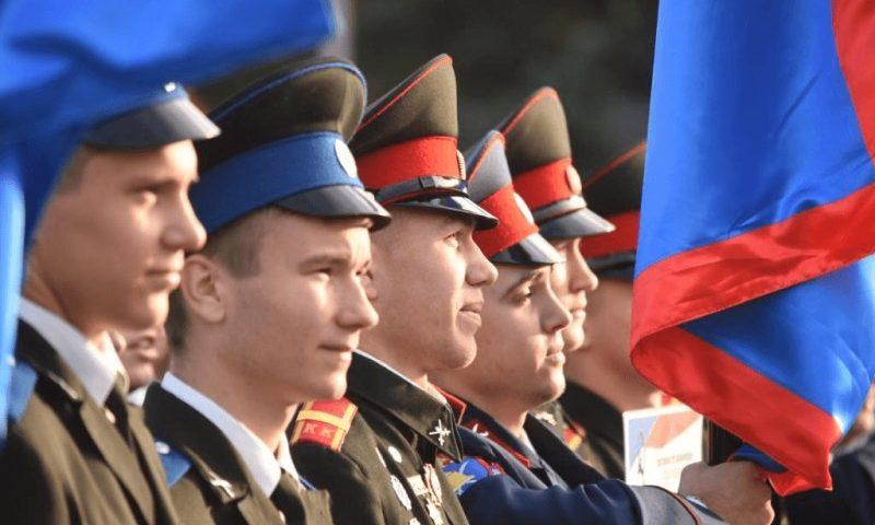 Третье место заняли шахтинские кадеты в 5-м Всероссийском  слете казачьей молодежи «Готов к труду и обороне»