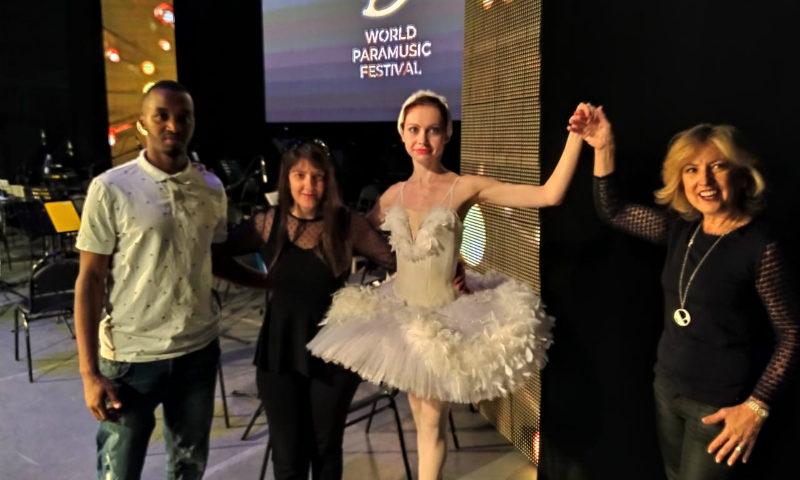 Балерина из города Шахты Юлия Покусаева выступила на XI Всемирном парамузыкальном фестивале