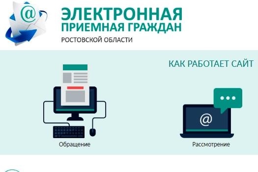 В электронную приемную граждан на сайте правительства Ростовской области обратились более 26000 граждан