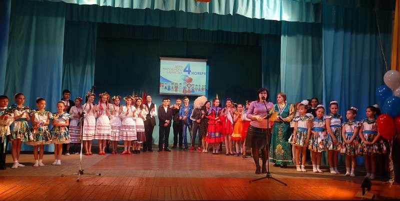 В клубе Красина г.Шахты прошел фестиваль национальных культур «Мы вместе – мы едины!»
