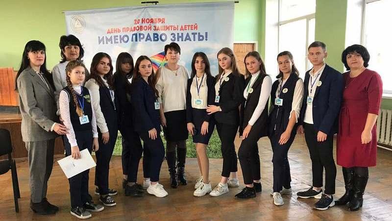 В г.Шахты прошел круглый стол  для детей-сирот «Система правовой защиты семьи и несовершеннолетних: основные права ребенка в РФ»