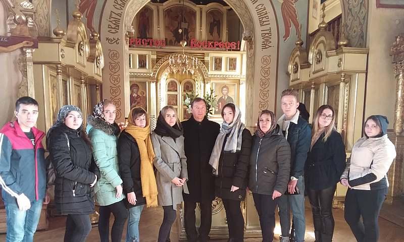 Шахтинские студенты совершили экскурсионно-паломническую поездку в Таганрог