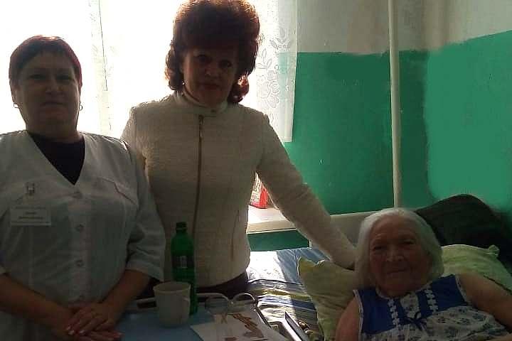 Шахтинка Нина Ищенко получила поздравления от Президента России и Губернатора Ростовской области