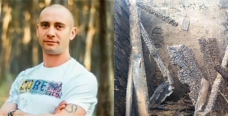 Рискуя жизнью, шахтинцы вытащили из горящего дома соседа