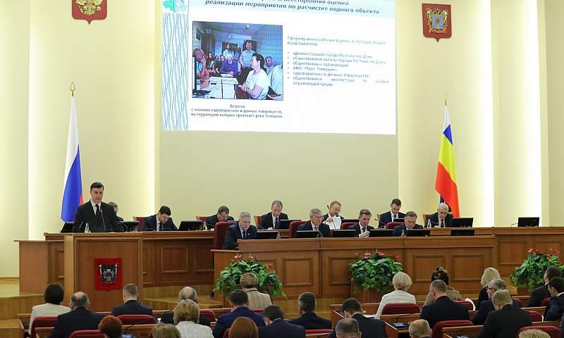 До конца 2020 года в Ростове благоустроят «первую милю» экопарка вдоль Темерника