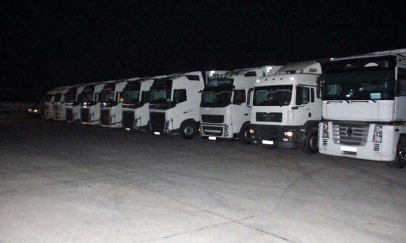 96 гуманитарная колонна отправилась в Донецкую и Луганскую области
